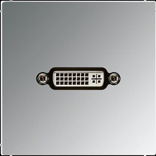 JUNG MAGCR1193 DVI Glanz-Chrom