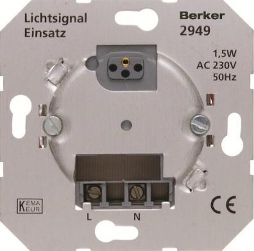 Berker 2949 Info-Lichtsignal Modul-Einsätze