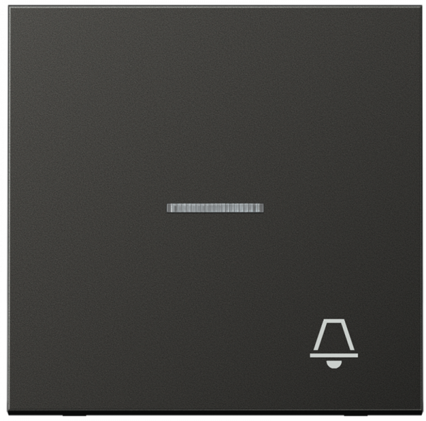 "JUNG AL2990KO5KAN Kontroll-Wippe mit Symbol ""Klingel"" Anthrazit"