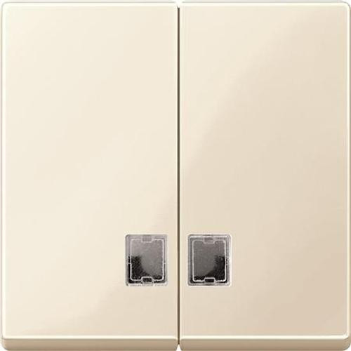 Merten 438544 Serienwippe mit Symbolfenster Weiß-Glänzend
