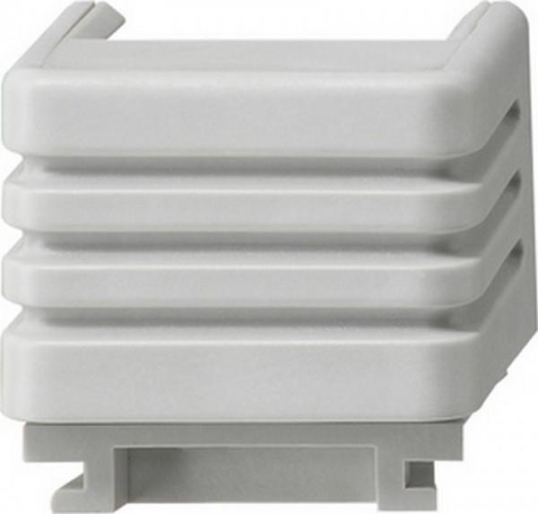 GIRA 001030 Adapter mit Leitungseinführung 1-Fach mit Kanalschieber 15 x 30 mm