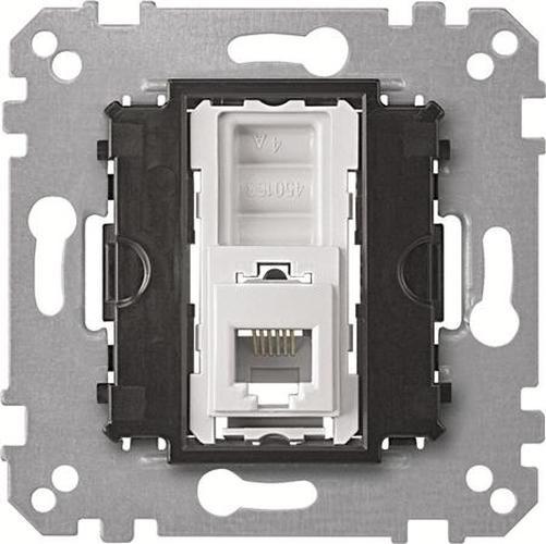 Merten MEG4214-0000 RJ12-Telefonsteckdosen-Einsatz 4-Polig