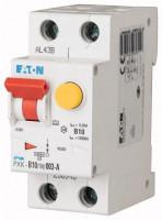 Eaton PXK-B10/1N/003-A FI/LS-Schalter B10A 1P+N 30mA