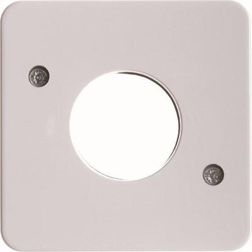 Berker 153009 Zentralstück für Drucktaster und Lichtsignal E10 wg Up IP44 Polarweiß, Glänzend