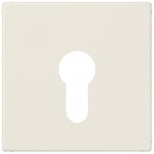 JUNG LS925 Abdeckung für Schlüsselschalter Creme-Weiß