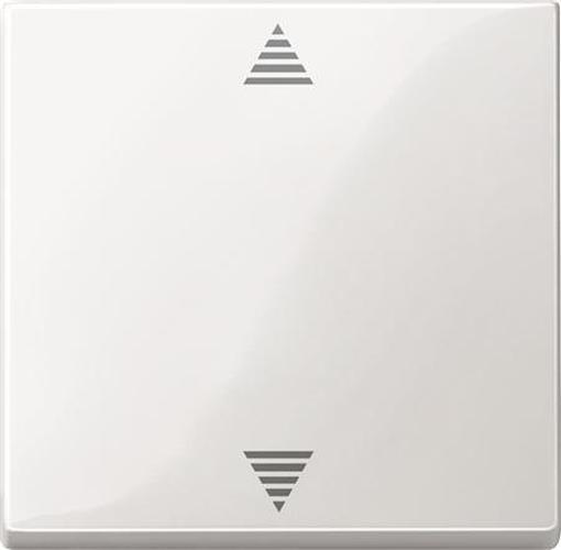 Merten 503519 Bedienelement Jalousietaster mit FUNK Polarweiß-Glänzend