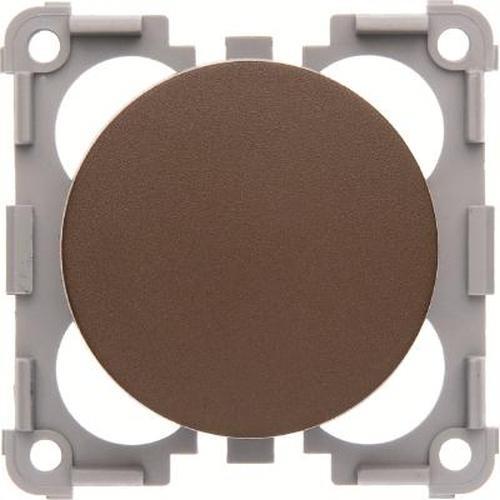 Berker 928762501 Drehdimmer 12 V= mit Regulierknopf Integro Flow/Pure Braun, Matt