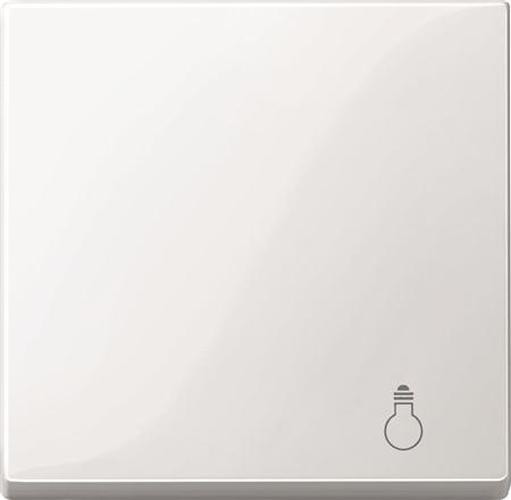"""Merten MEG3302-0319 Wippe mit Symbol """"Licht"""" Polarweiß-Glänzend"""