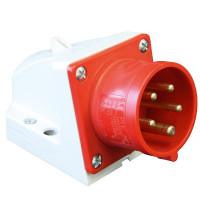 PCE 525-6 CEE Wandgerätestecker 32A 5-Polig 6h IP44