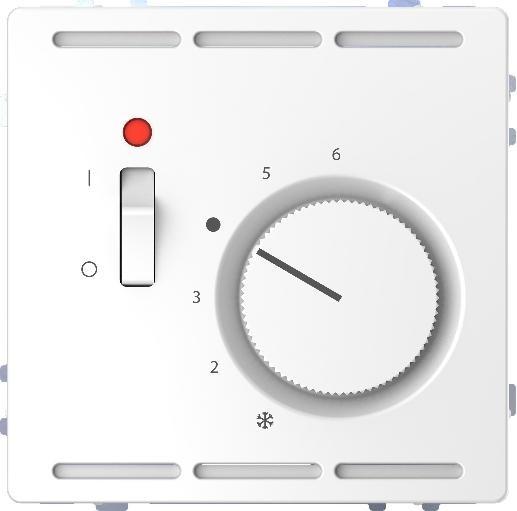 Merten MEG5761-6035 Raumtemperaturregler 24V Lotosweiß