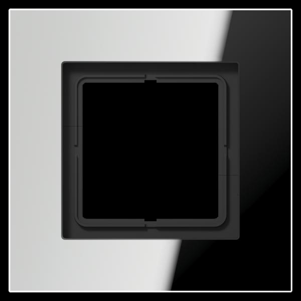 JUNG LSP981GCR Rahmen 1-Fach LS-Serie Glanz-Chrom