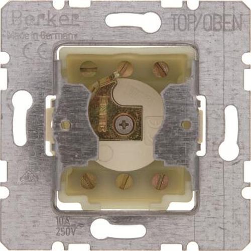 Berker 382210 Jalousie-Schlüsselschalter für Profil-Halbzylinder Modul-Einsätze