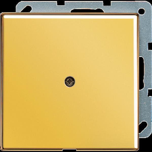 JUNG LS990AGGO Leitungsauslass mit Zugentlastung Vergoldet