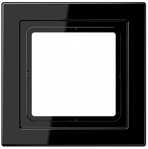 JUNG LSD981SW Rahmen 1-Fach LS-Serie Schwarz