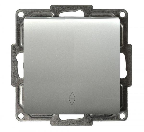 Moderna Wechselschalter Silber