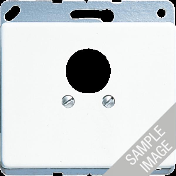 JUNG SL562SW Abdeckung für 2 Kleinsteckdosen Schwarz