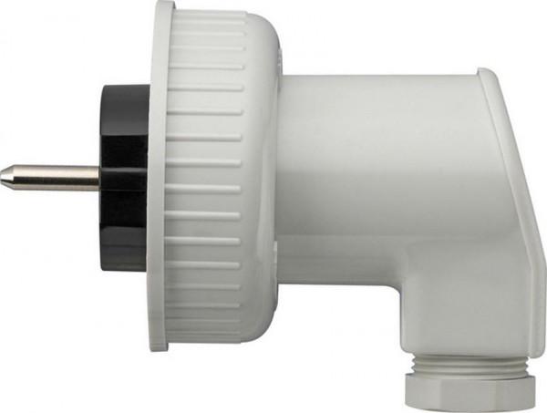 GIRA 002031 Schuko-Stecker für Steckdose mit Bajonettverschluss