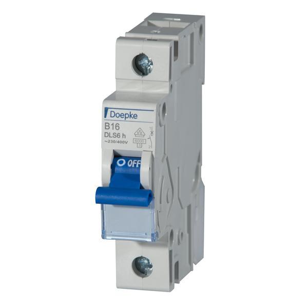 Doepke 9914022 Leitungsschutzschalter DLS 6H B13-1-Polig