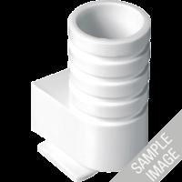 JUNG 13 Einführungen für Rohr mit Außendurchmesser bis 16 mm Cremeweiß