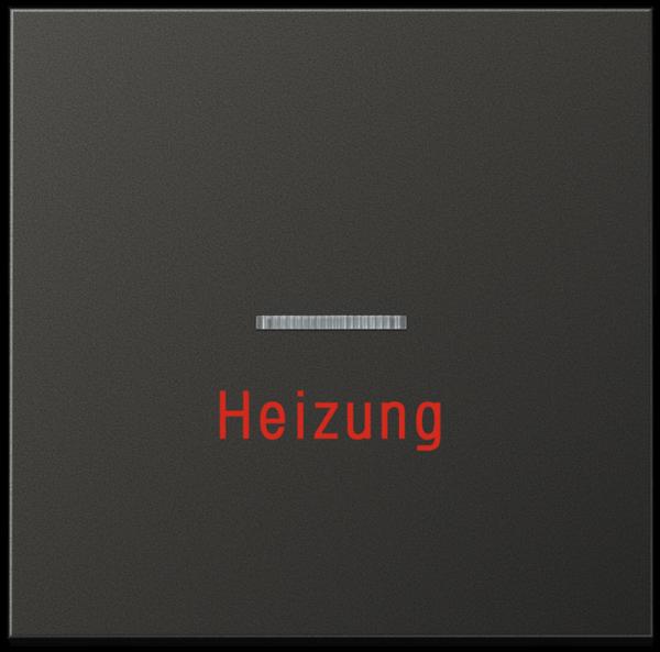 "JUNG AL2990HAN Kontroll-Wippe mit Aufschrift ""Heizung"" Anthrazit"