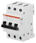 ABB S201-C50 Sicherungsautomat 3-Polig C50