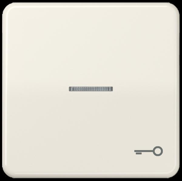 """JUNG CD590KO5T Kontroll-Wippe mit Symbol """"Schlüssel"""" Cremeweiß"""