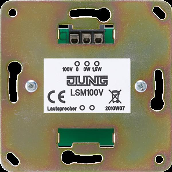 JUNG LSM100V 100-V-Übertrager für ELA-Anlagen