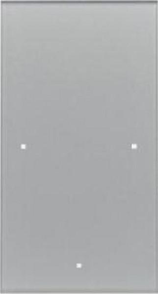 Berker 169107 Glas-Sensor 1Fach TS Sensor Glas, Alu