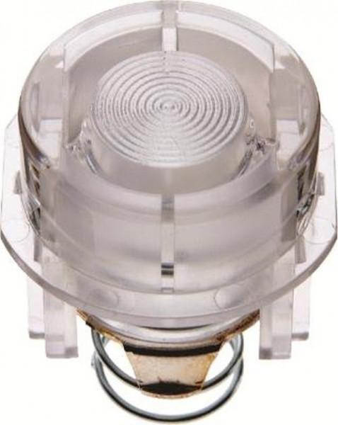 Berker 127902 Tasterknopf für Drucktaster und Lichtsignal E10 Zubehör Klar Transparent