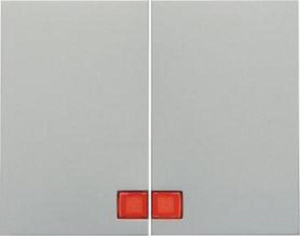 Berker 14377004 Wippen mit roter Linse K.5 Alu