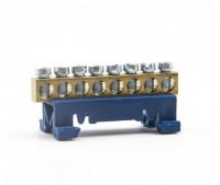 Verteilerklemme N-K8 Null-Leiterklemme 8-Polig N-Blau