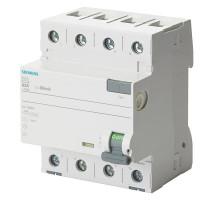 Siemens 5SV3342-6 Fi-Schutzschalter 25A 4-Polig 0,03A