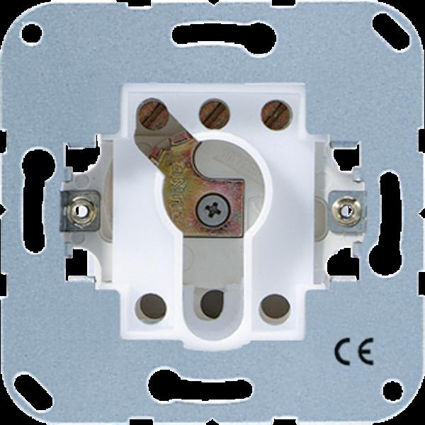 JUNG 104.15 Schlüsselschalter-Einsatz ohne Demontageschutz
