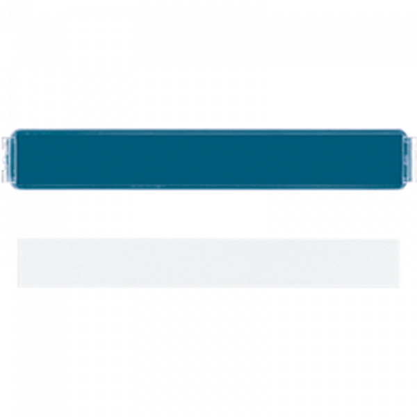 JUNG LS20NA Transparente Abdeckung für Schriftfeld 7 x 57 mm