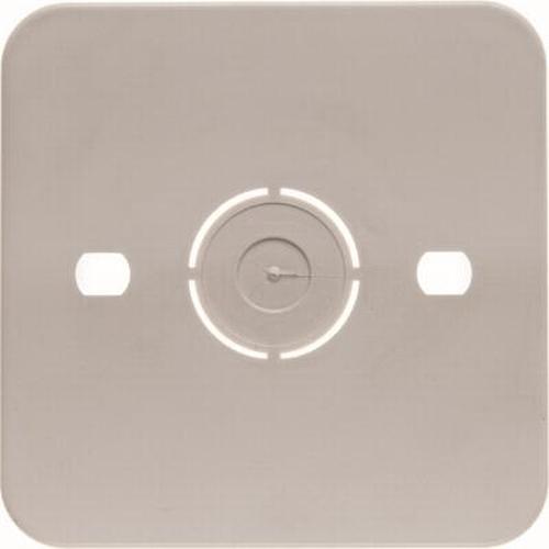 Berker 105250 Selbstverlöschende Bodenplatte Aufputz Weiß