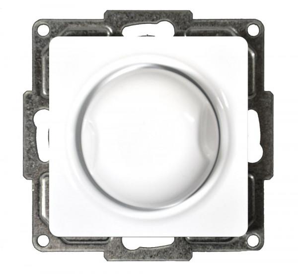 Moderna Druck-Wechsel-Dimmer 60-600W Alpinweiß