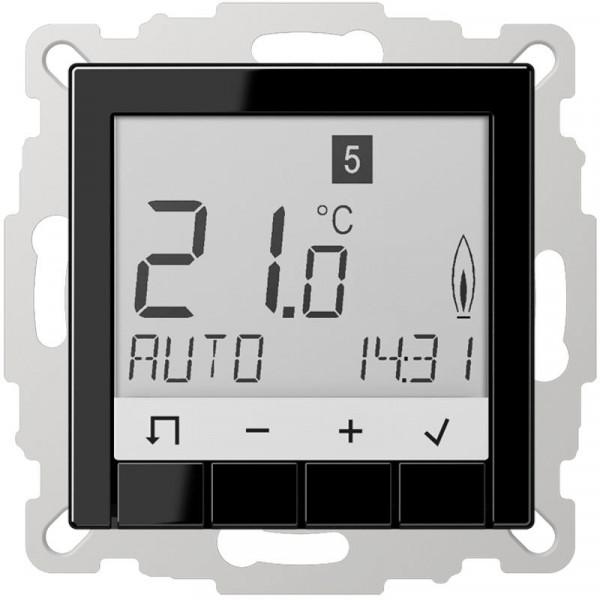 JUNG TRUDA231SW Raumtemperaturregler Universal mit Display Schwarz