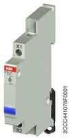 ABB E219-G LED-Leuchtmelder blau 230V
