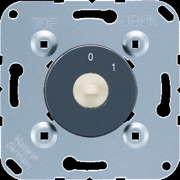 JUNG 1101-20 Drehschalter-Einsatz 2-Polig