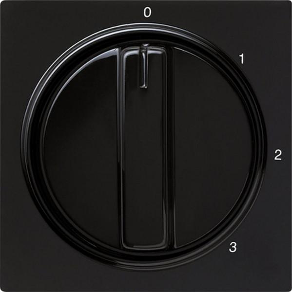 GIRA 066947 Abdeckung 3-Stufenschalter Schwarz