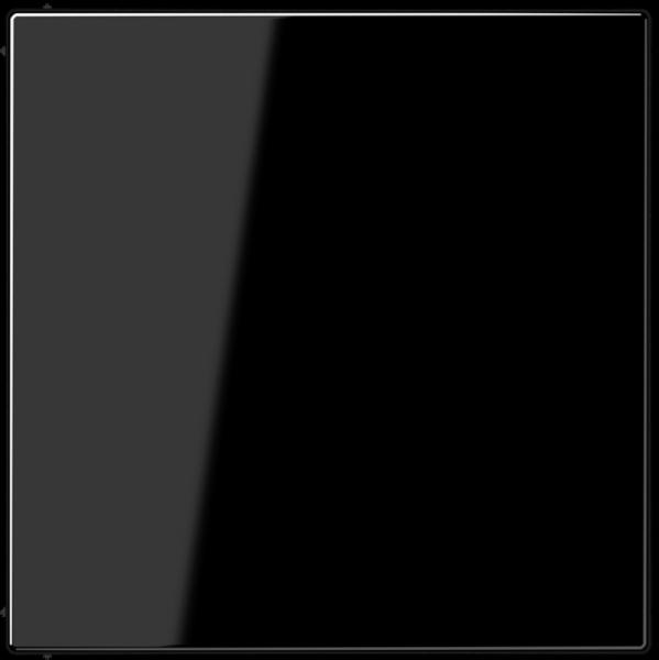 JUNG LS994BSW Blind-Abdeckung mit Tragring Schwarz