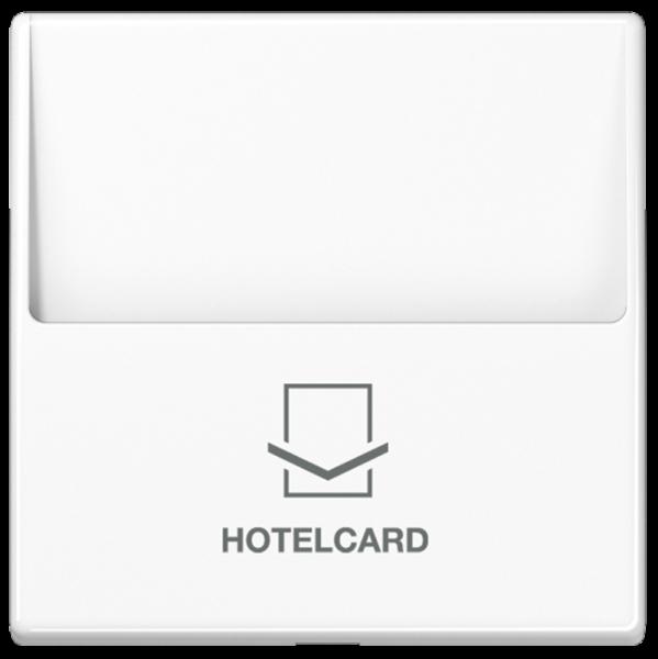 JUNG A590CARDWW Hotelcard-Schalter Alpinweiß