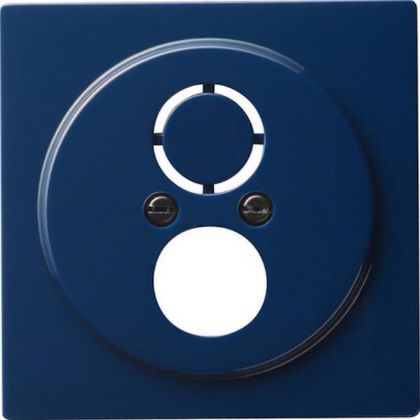 GIRA 027746 Abdeckung für Kommunikationstechnik mit Adapterset Blau