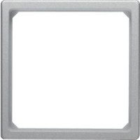 Berker 11096074 Adapterring für Zentralstück 50 x 50 mm Q.1/Q.3 Alu Samt, Lackiert