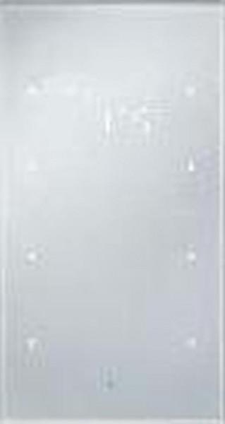 Berker 75643134 Glas-Sensor 3Fach mit Temperaturregler TS Sensor konfiguriert, Alu