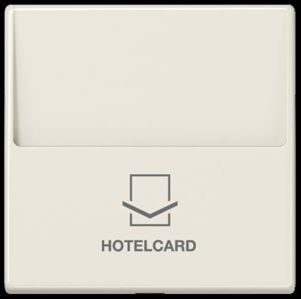 JUNG A590CARD Hotelcard-Schalter Cremeweiß