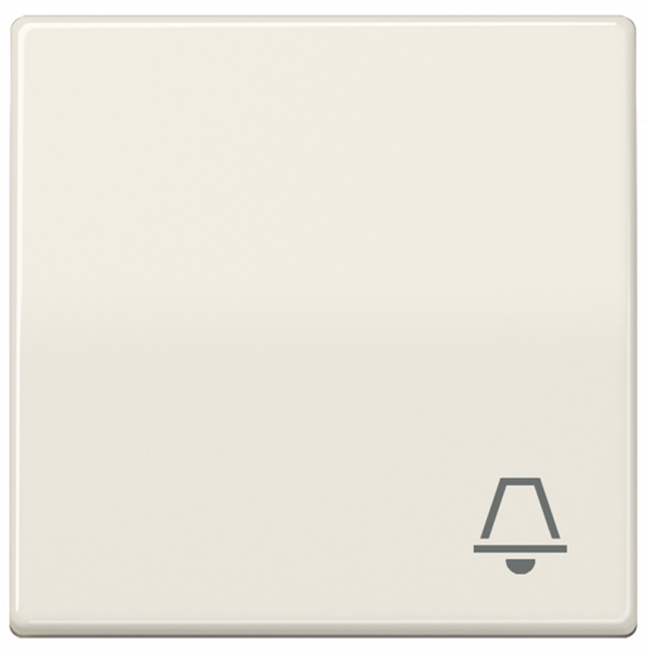 "JUNG ABAS591K Wippe mit Symbol ""Klingel"" Cremeweiß"
