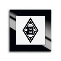 """Busch-Jaeger 2000/6UJ/05 Aus/Wechselschalter Fanschalter """"Mönchengladbach"""""""