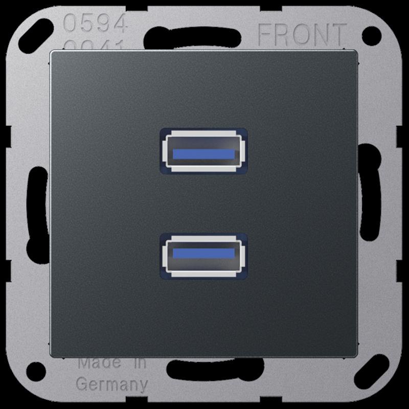 Jung A590BFANM Wippe für Jung Schalter//Taster anthrazit matt