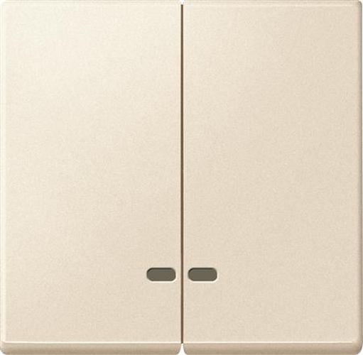 Merten MEG3420-0444 Doppelwippe mit Kontrollfenster Weiß